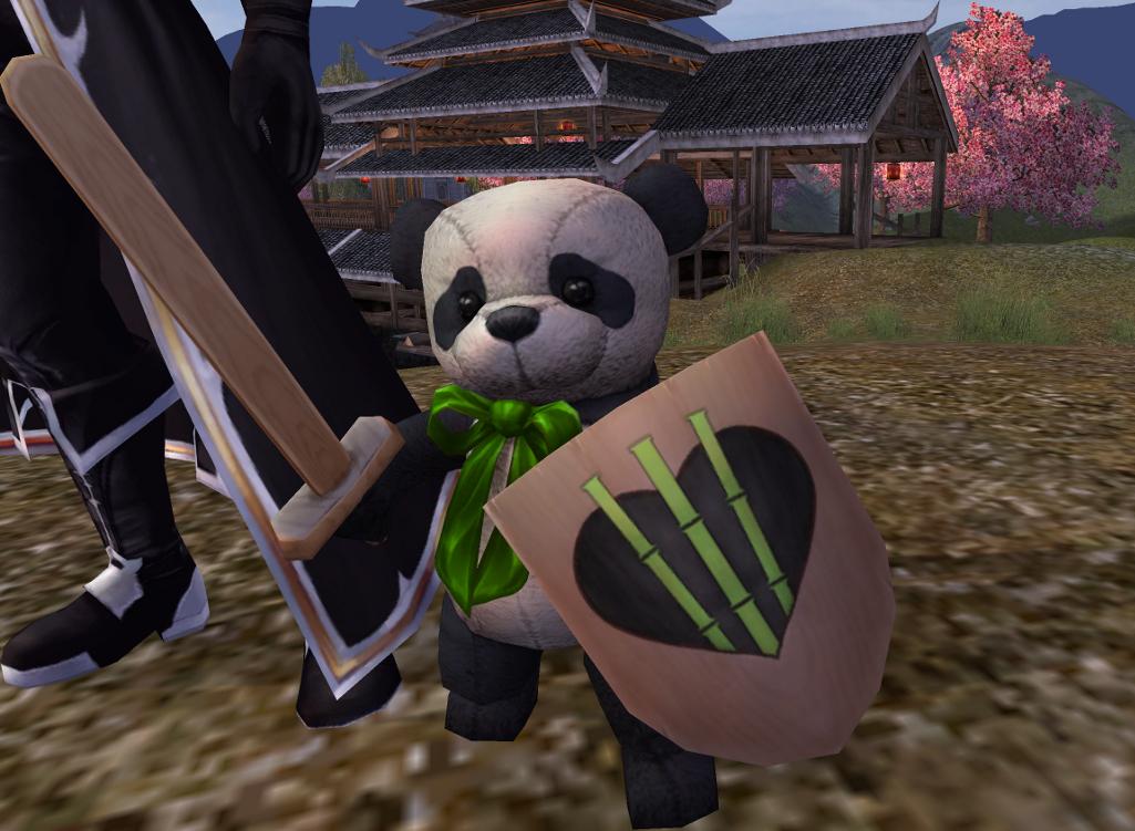 PWI, free MMORPG, Panderic Knight, free Panda, Panda MMORPG