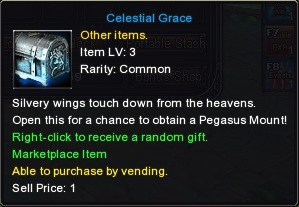 Celestial Grace, Chance Pack