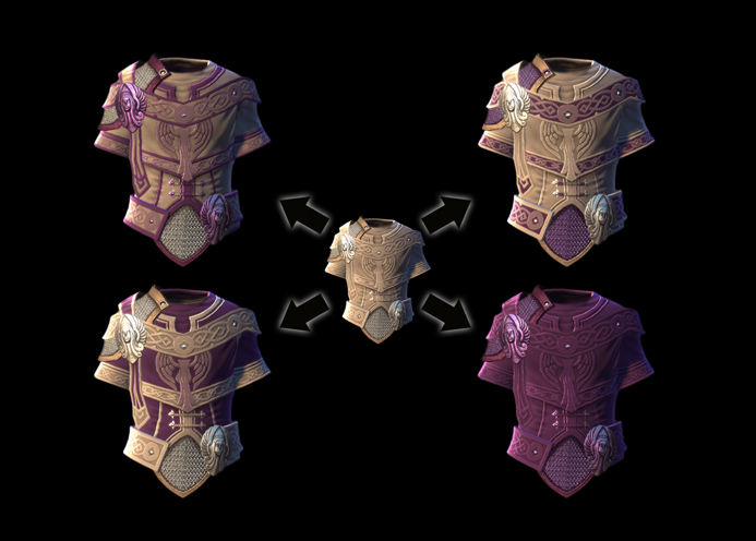 neverwinter how to make dyes
