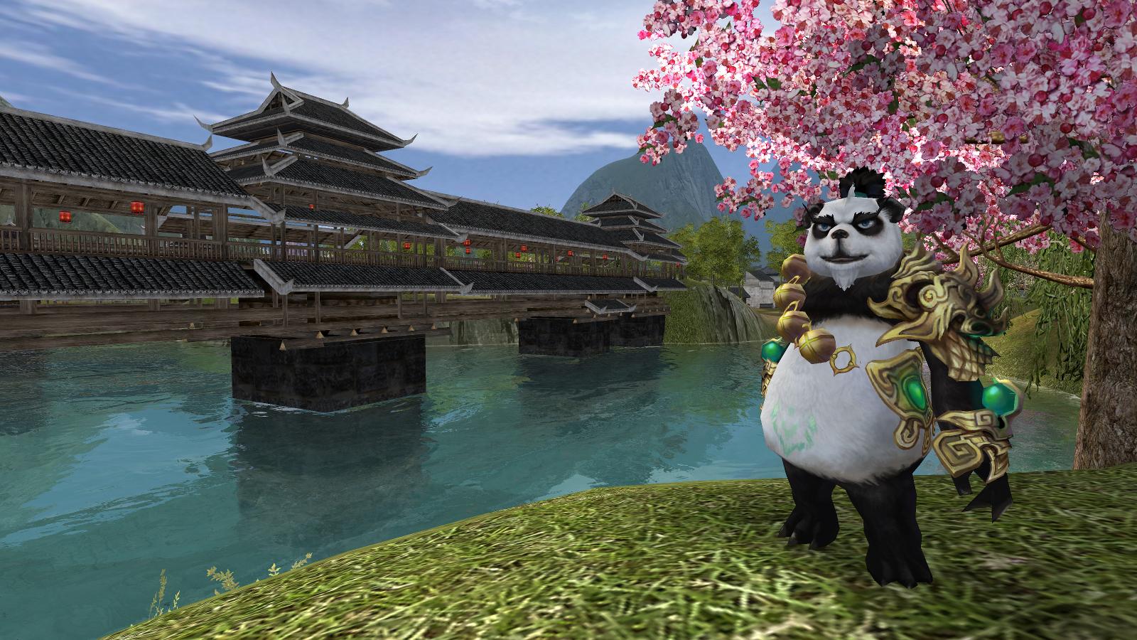 PWI free, panda, shapeshifting, barbarian