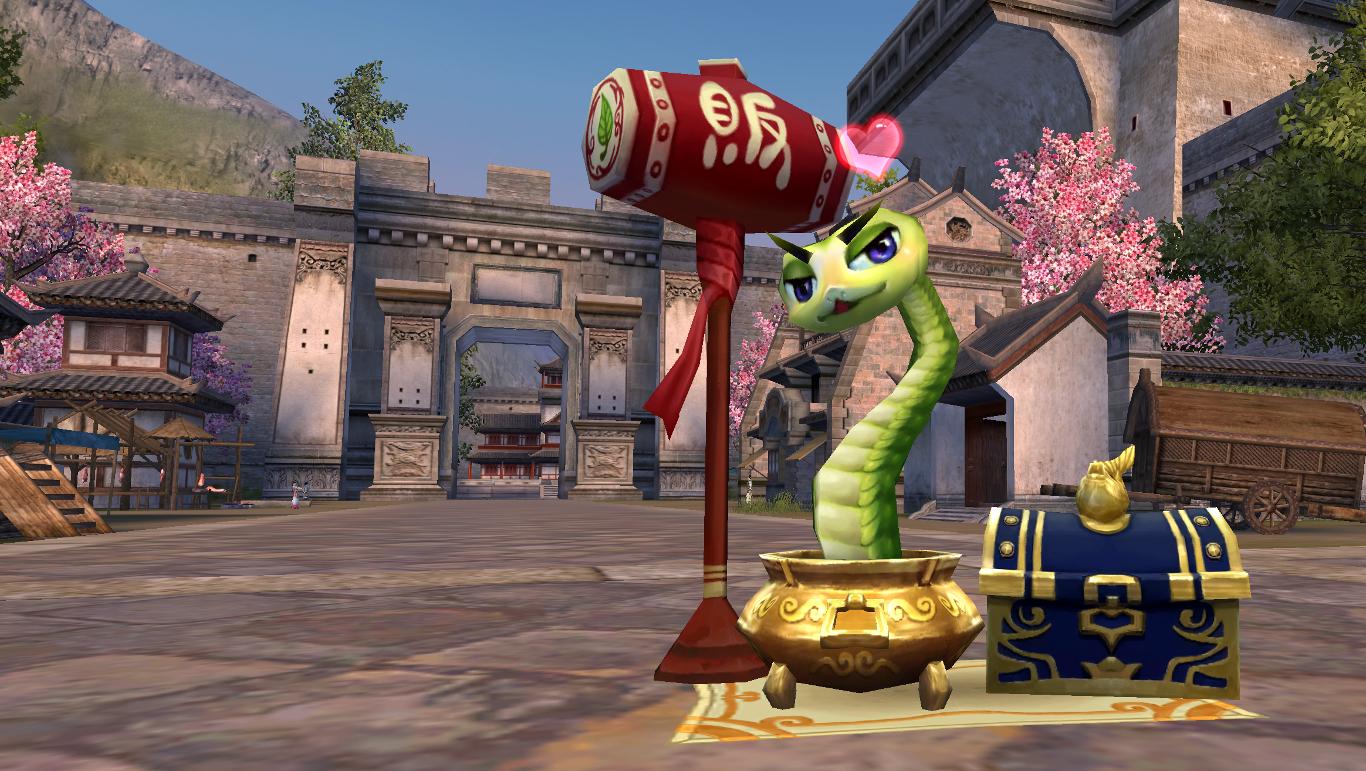 PWI, free MMORPG, PWI vendor, Lucky snake,
