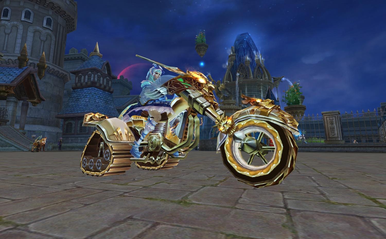 If Horde bike and Alliance Bike had a baby - World of