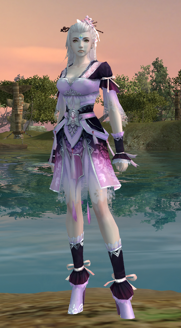 PWI fashion, free MMORPG, MMORPG fashion, Peach Blossom