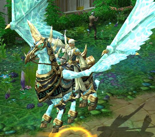 Pegasust, Celestial Grace, Mount