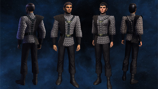Boldly wear what no one has worn beforeu2026 well at least in Star Trek Online.  sc 1 st  Jupiter Force & Legacy of Romulus Dev Blog #30: Romulan Costume Pack: The Next ...