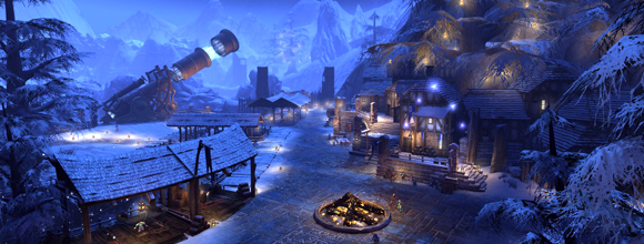 Dungeons and Dragons Neverwinter Winter Festival