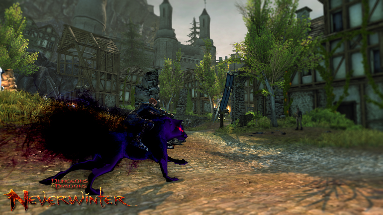 Neverwinter Shadow Wolf Mount