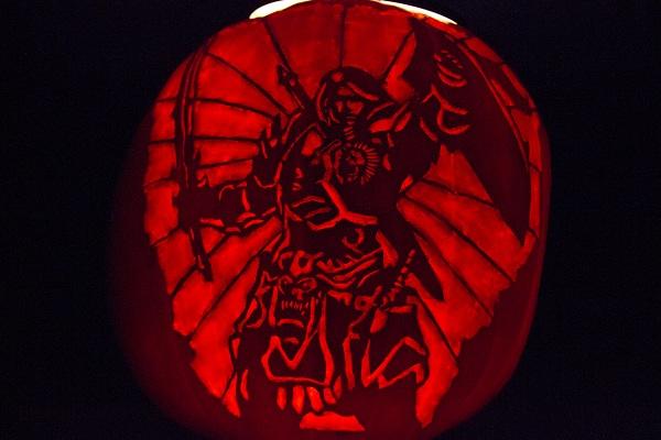 Champion, Pumpkin Carving Contest, Halloween Pumpkin